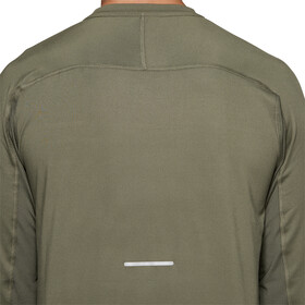 asics Thermopolis Plus T-shirt à manches longues Homme, mantle green